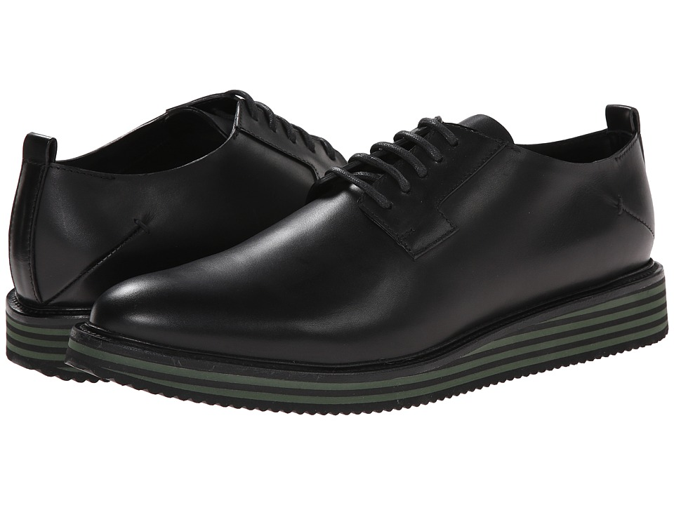 CoSTUME NATIONAL - Laced Shoe with Flatform (Black) Men