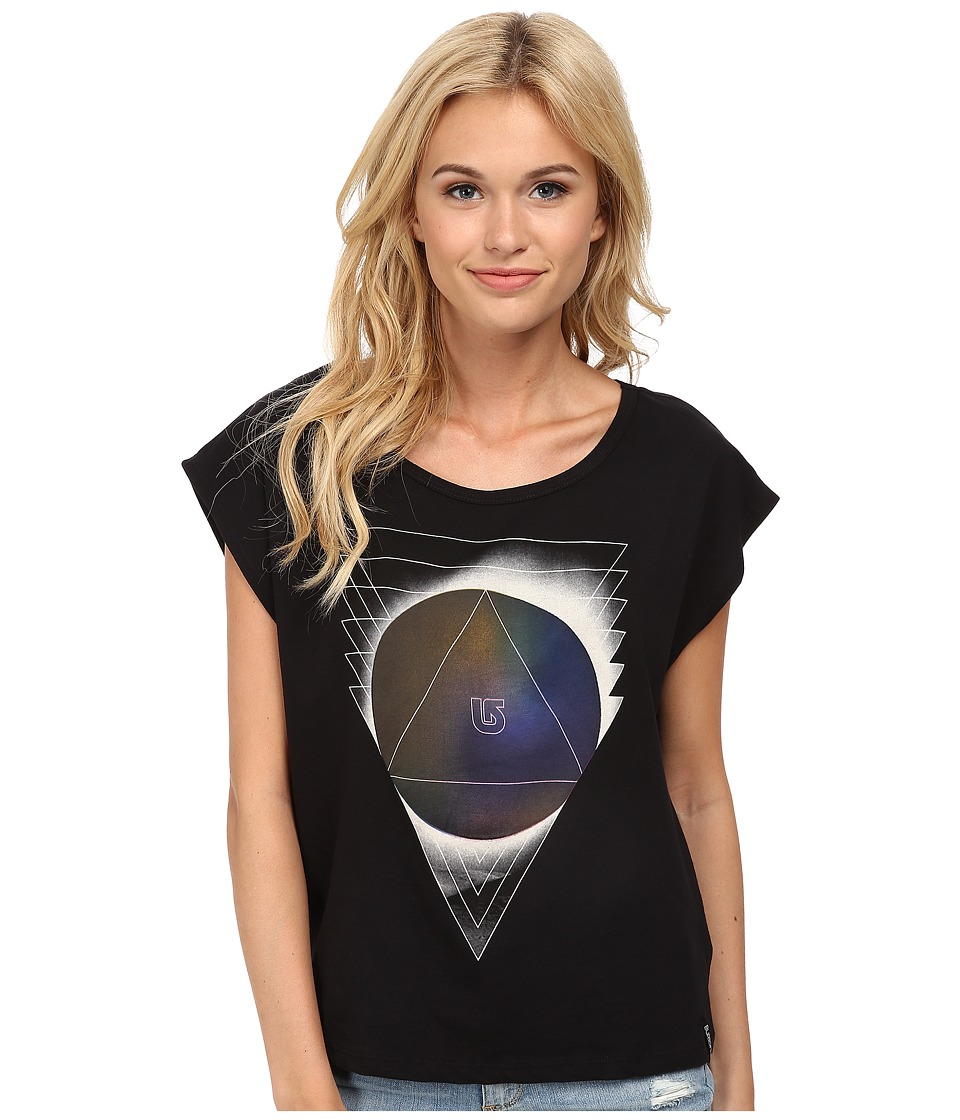 Burton - Moonscape Tee (True Black) Women's T Shirt