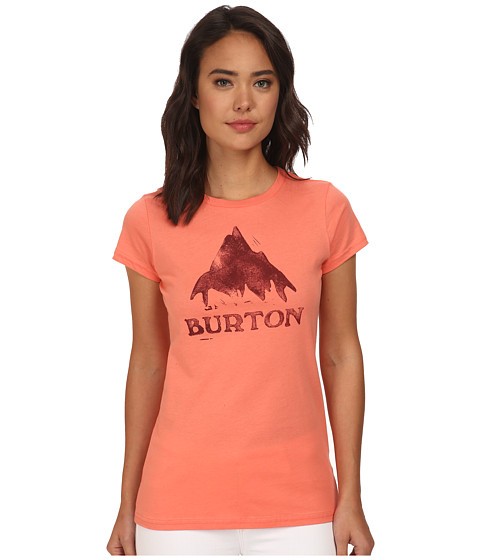 Burton - Stamped Monument S/S (Fresh Salmon) Women