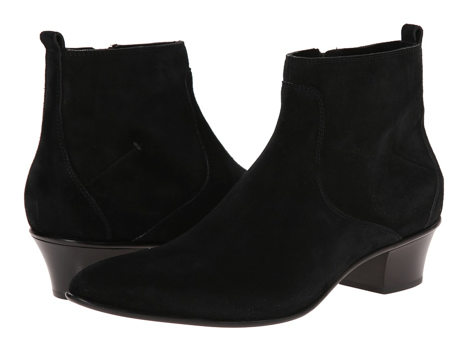 CoSTUME NATIONAL - Heeled Boot (Black) Men's Boots