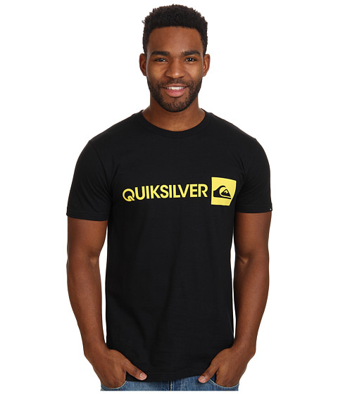 Quiksilver - Everyday Gothic Tee (Black) Men's T Shirt