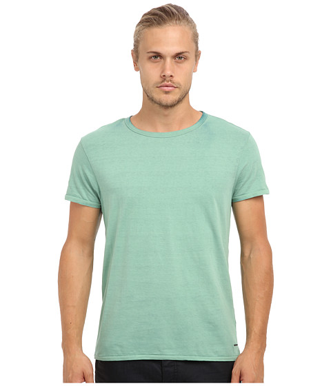 Scotch & Soda - Classic Crew Neck Tee (Nordic Blue) Men's T Shirt