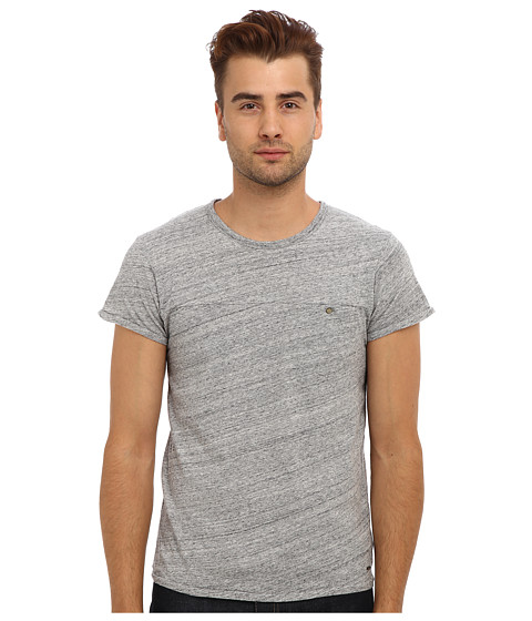 Scotch & Soda - Vintage Fit Jersey Tee (Grey Melange) Men's T Shirt