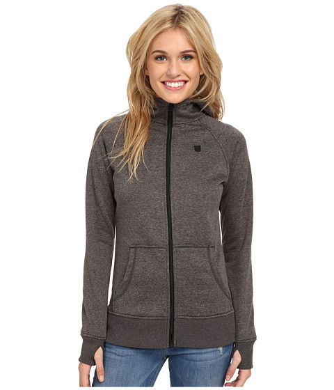 Burton - Distill Hoodie Recycled Bottle Polyester (True Black Heather) Women