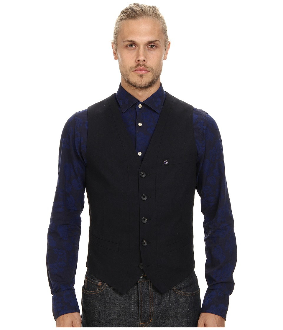 Scotch & Soda - Chic City Vest (Night) Men's Vest