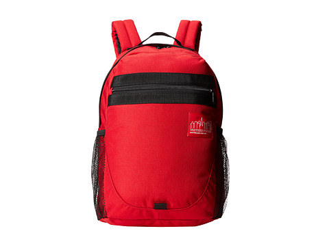 Manhattan Portage - Critical Mass Backpack (Red) Backpack Bags