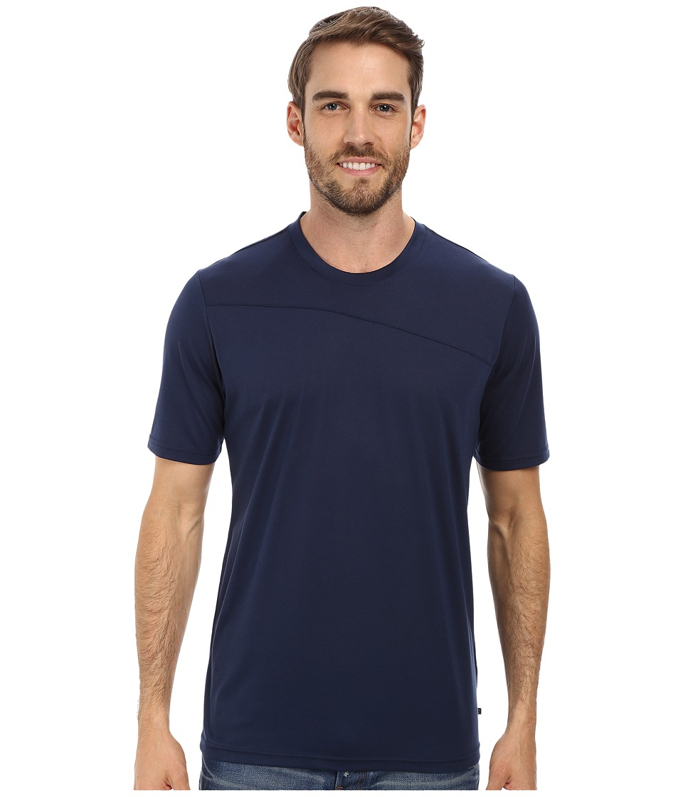 Toad&Co - Onrush S/S Crew (Deep Navy) Men's Short Sleeve Pullover