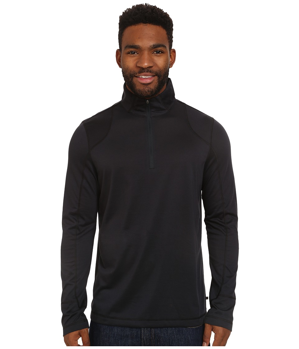 Toad&Co Onrush 1/4 Zip Top (Black) Men
