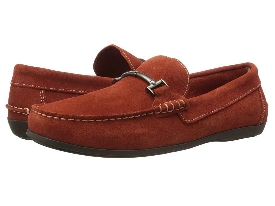 Florsheim Jasper Bit (Burnt Orange Suede) Men