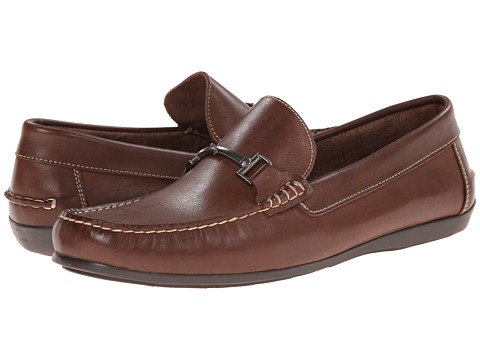 Florsheim - Jasper Bit (Brown Smooth) Men's Slip on Shoes