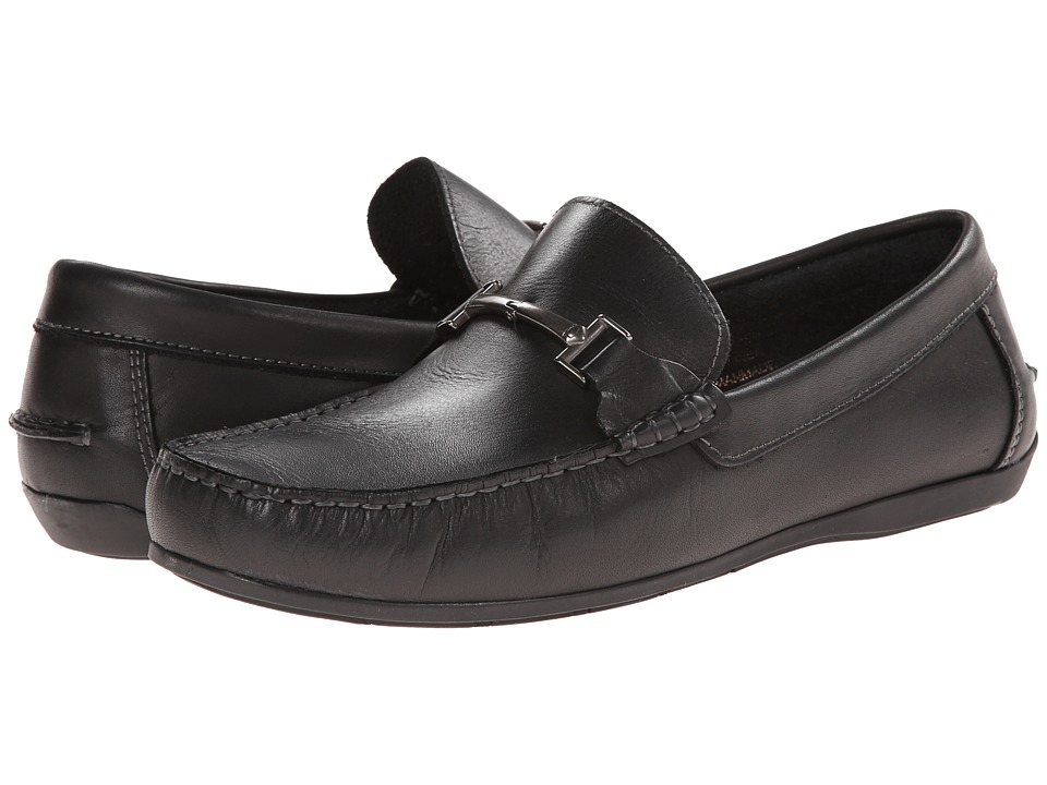 Florsheim - Jasper Bit (Black Smooth) Men's Slip on Shoes