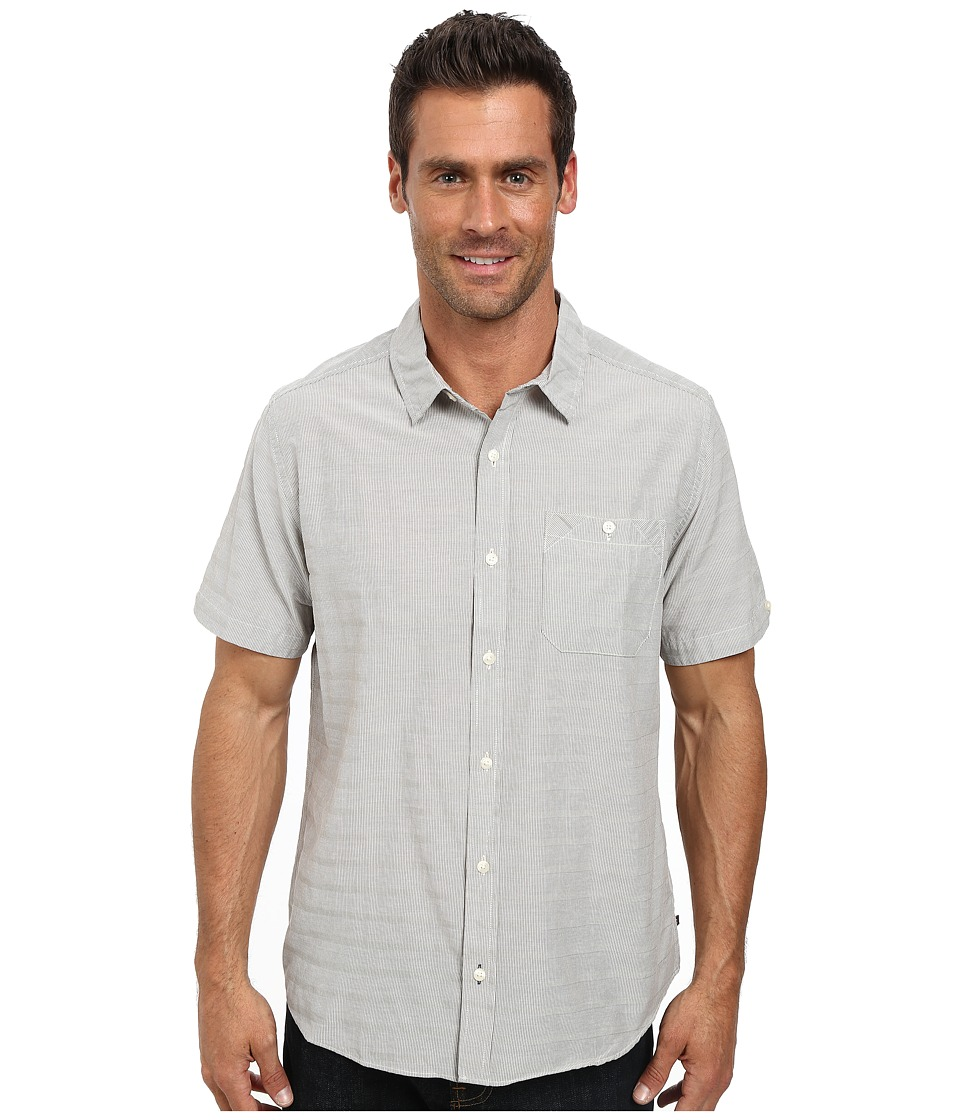 Toad&Co - Wonderer S/S Shirt (Salt) Men's Short Sleeve Button Up