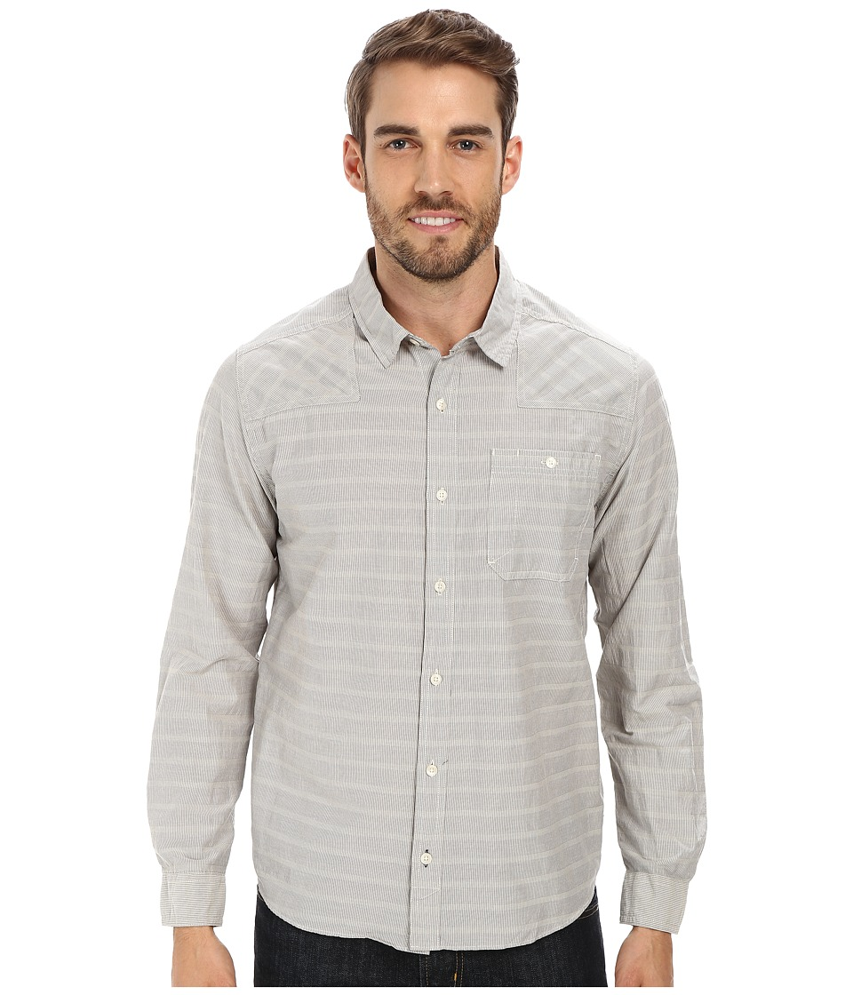 Toad&Co - Wonderer L/S Shirt (Salt) Men's Long Sleeve Button Up
