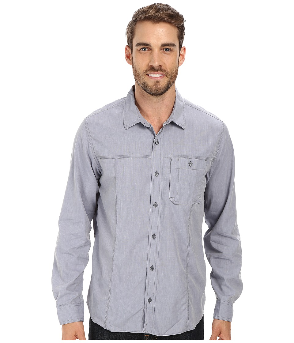 Toad&Co - Livingstone L/S Shirt (Storm Grey) Men's Long Sleeve Button Up