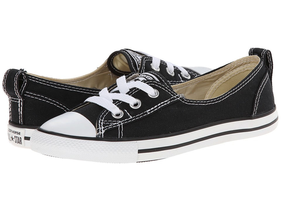 Converse - Chuck Taylor All Star Ballet Lace Slip (Black) Women's Shoes