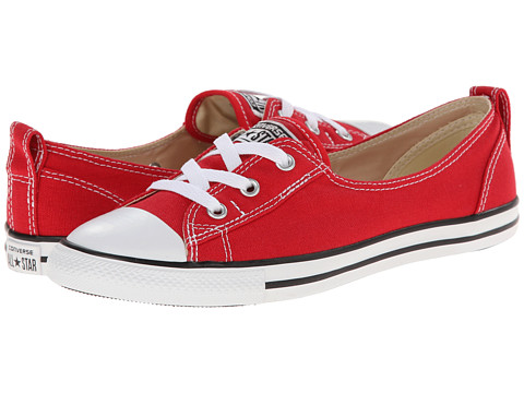 Converse - Chuck Taylor All Star Ballet Lace Slip (Red) Women