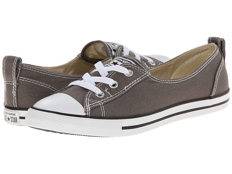Converse - Chuck Taylor All Star Ballet Lace Slip (Charcoal) Women's Shoes