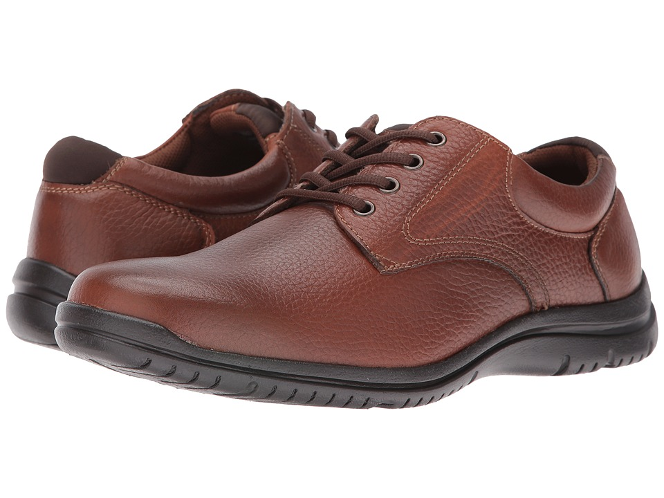 Florsheim - Racer Plain Ox (Cognac Milled) Men