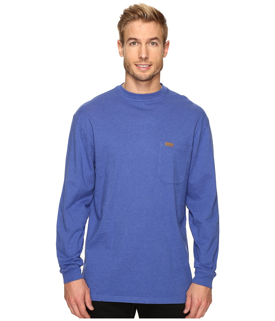 Pendleton - L/S Deschutes Tee (Brilliant Blue Mix) Men's Long Sleeve Pullover