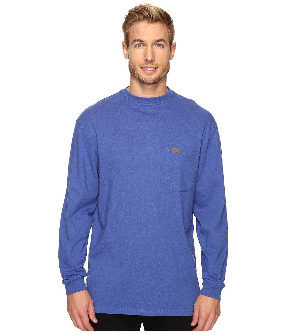 Pendleton - L/S Deschutes Tee (Brilliant Blue Mix) Men's Long Sleeve Pullover