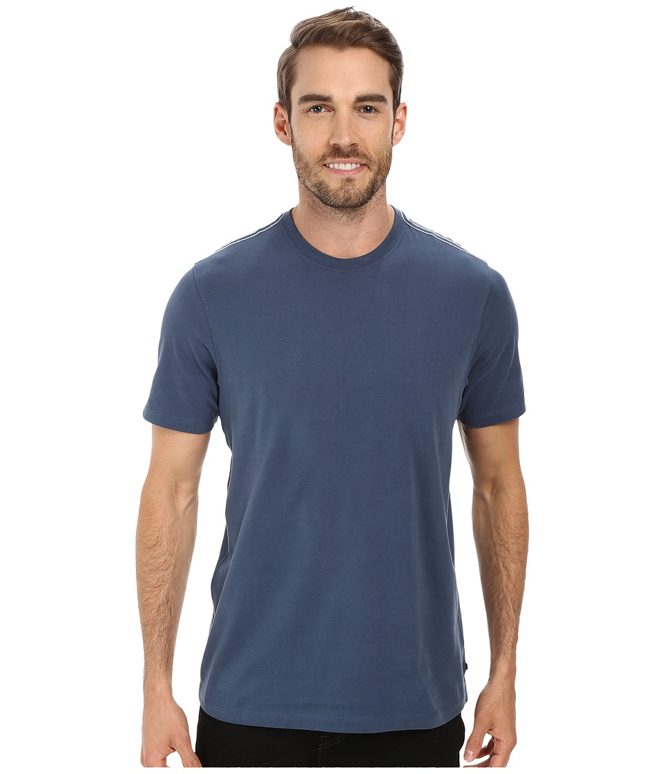 Toad&Co - Peter S/S Tee (Deep Blue) Men's Short Sleeve Pullover