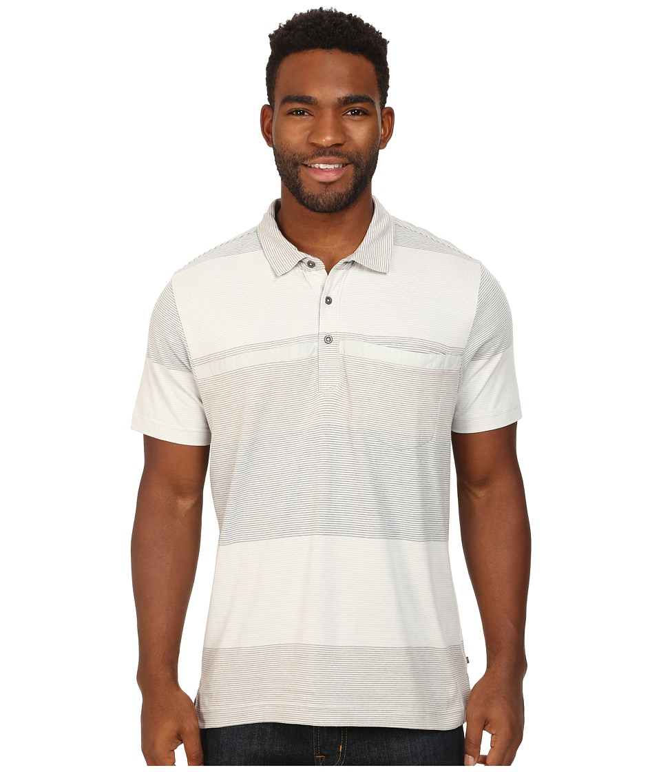 Toad&Co - Jack S/S Polo Shirt (Chrome) Men's Short Sleeve Knit