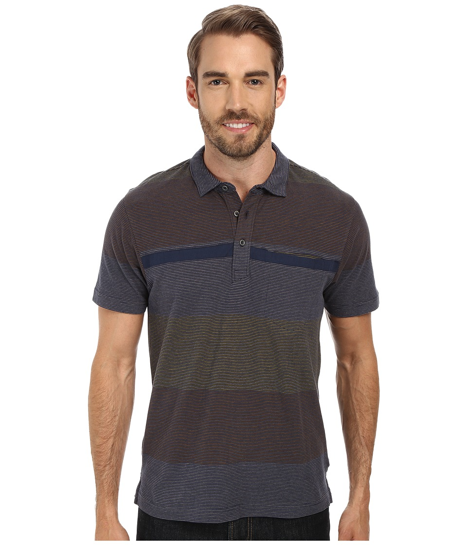 Toad&Co - Jack S/S Polo Shirt (Deep Navy) Men's Short Sleeve Knit