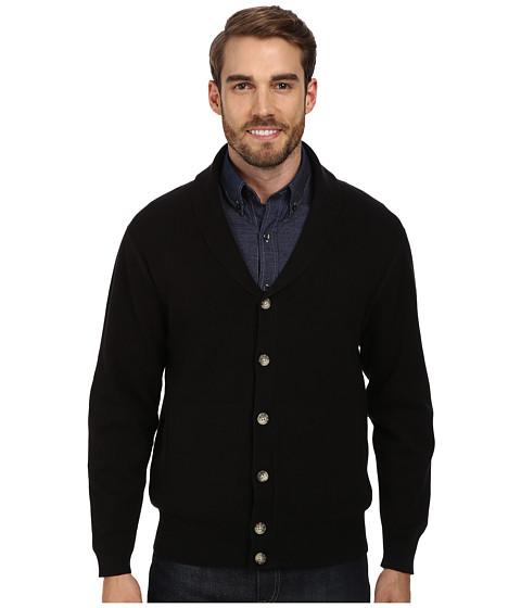 Pendleton - Dressy Knit Jacket (Black) Men's Sweater