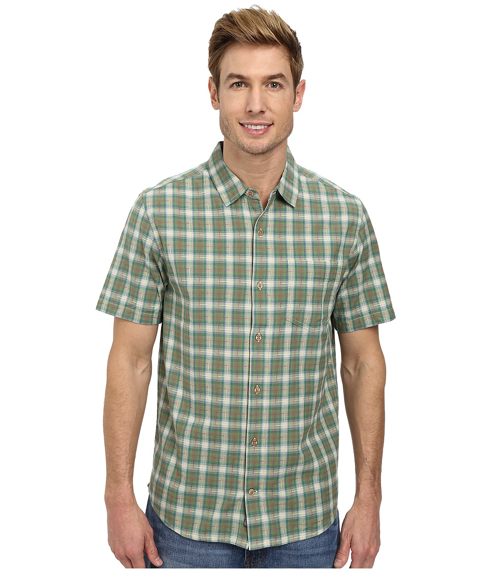 Toad&Co - Open Air S/S Shirt (Agave) Men's Short Sleeve Button Up