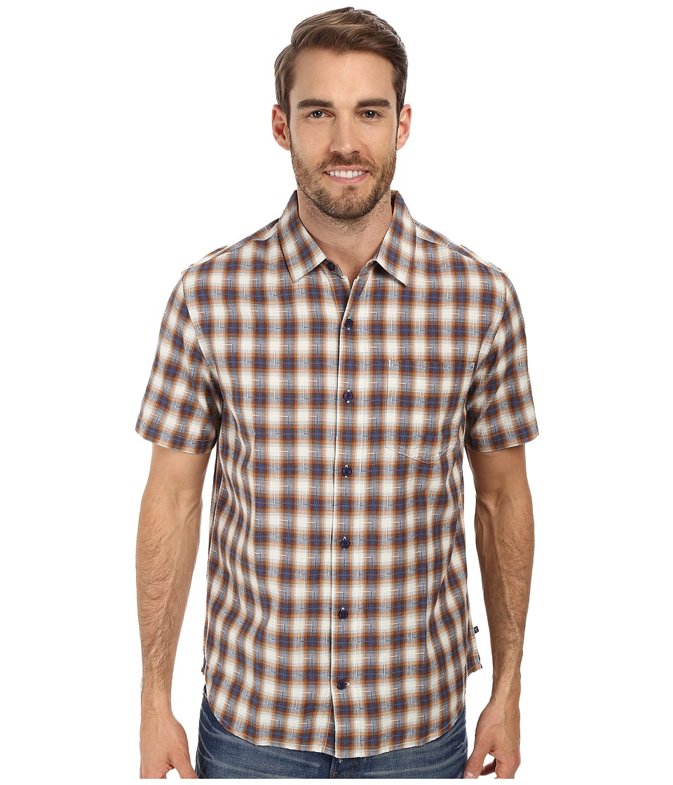 Toad&Co - Open Air S/S Shirt (Copper) Men's Short Sleeve Button Up