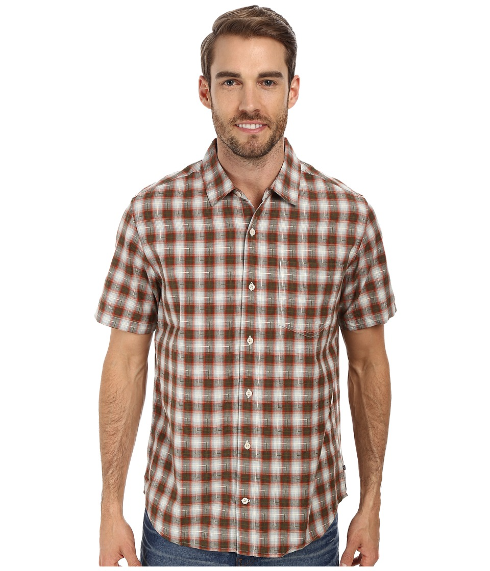 Toad&Co - Open Air S/S Shirt (Picante) Men's Short Sleeve Button Up