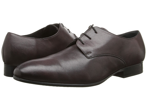 Fitzwell - Plain (Burgundy Tequila Leather) Men