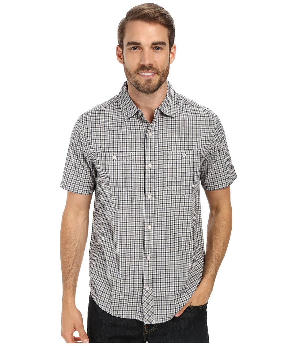 Toad&Co - Smythy S/S Shirt (Chrome) Men's Short Sleeve Button Up