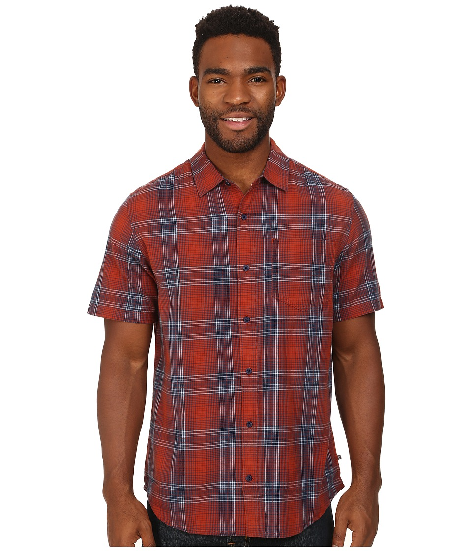 Toad&Co - Coolant S/S Shirt (Picante) Men's Short Sleeve Button Up