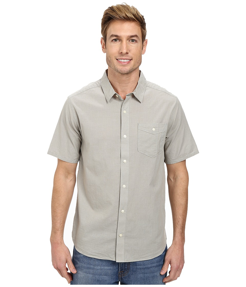Toad&Co - Airbrush S/S Shirt (Quarry) Men's Short Sleeve Button Up
