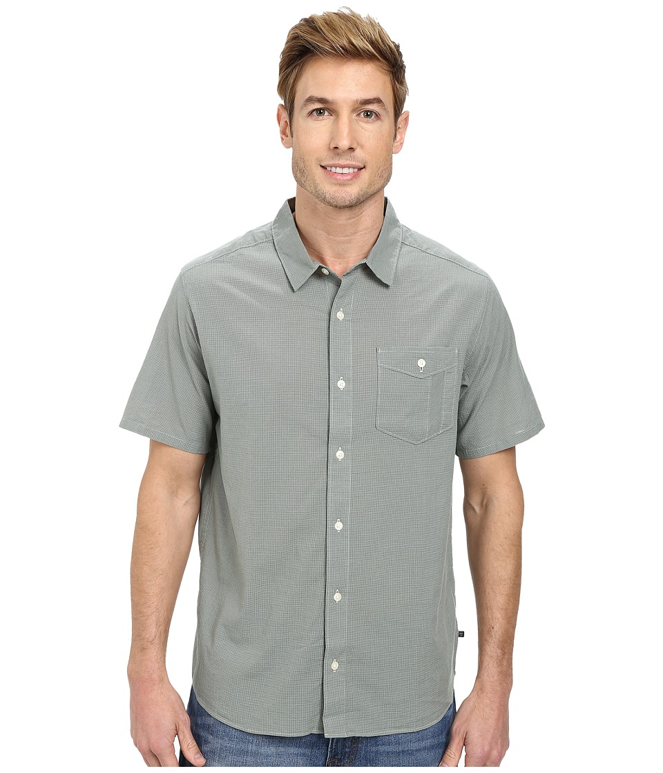 Toad&Co - Airbrush S/S Shirt (Pinon Pine) Men's Short Sleeve Button Up
