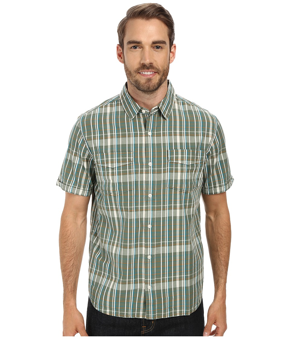 Toad&Co - Sputnik S/S Shirt (Pinon Pine) Men's Short Sleeve Button Up