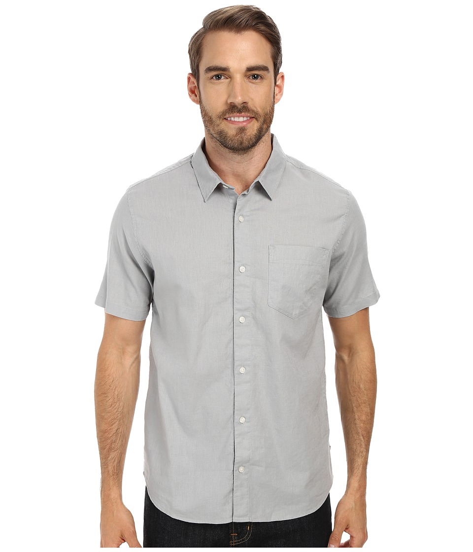 Toad&Co - Mescal S/S Shirt (Quarry) Men's Short Sleeve Button Up
