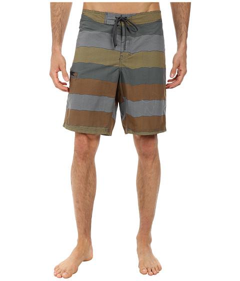 Toad&Co - Cetacean Trunk (Dark Graphite Print) Men's Swimwear