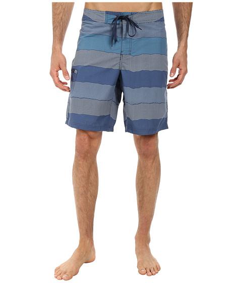 Toad&Co - Cetacean Trunk (Deep Blue Print) Men's Swimwear