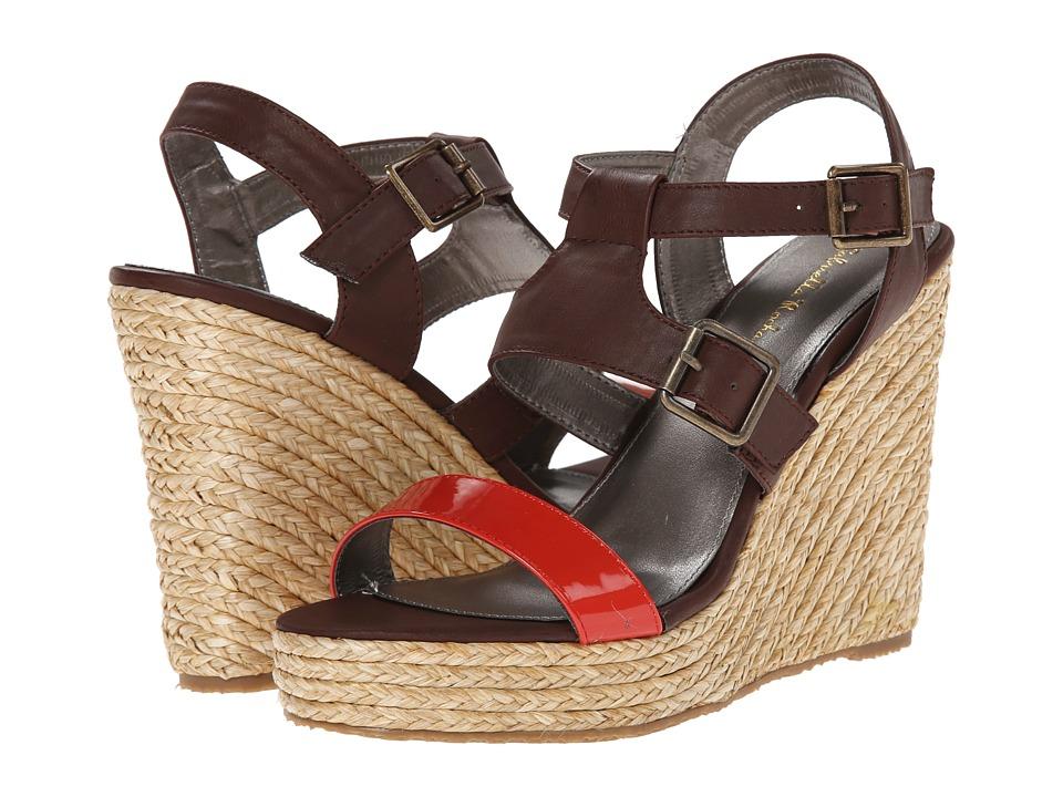Gabriella Rocha - Maysa (Wood/Cayenne) Women's Wedge Shoes