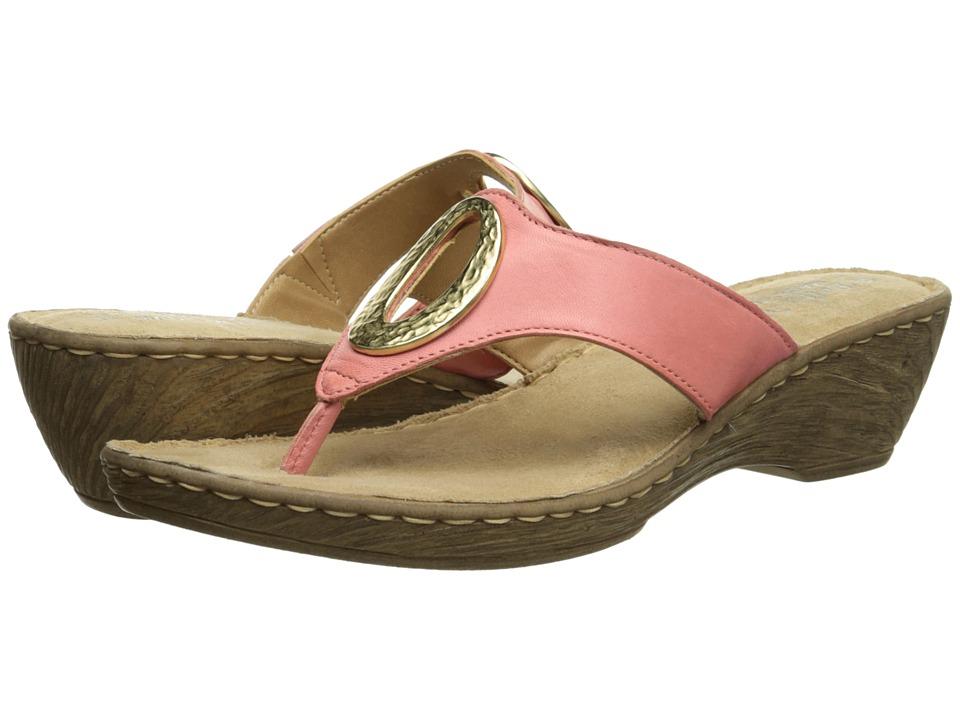 Bella-Vita - Bologna (Coral) Women's Sandals