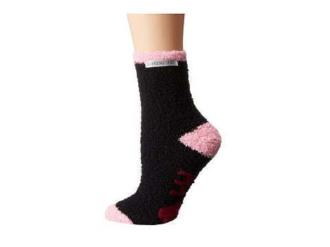 Life is good - Lightweight Snuggle Crew (Night Black) Women's Crew Cut Socks Shoes