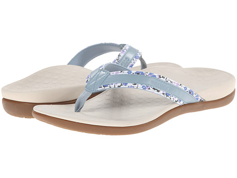 VIONIC with Orthaheel Technology - Tide Floral (Light Blue) Women's Sandals