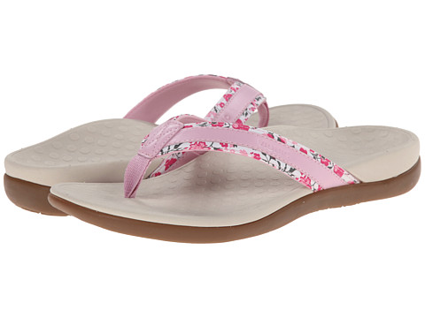 VIONIC with Orthaheel Technology - Tide Floral (Pink) Women's Sandals