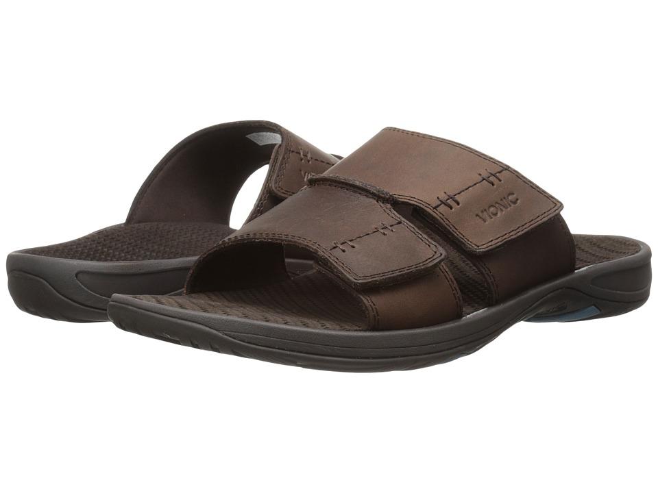 VIONIC - Jon (Brown) Men's Sandals