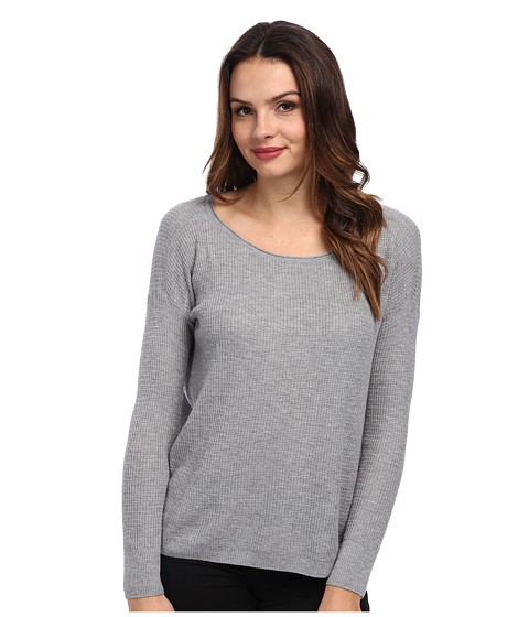 Soft Joie - Madilyn Top (Heather Grey) Women's Long Sleeve Pullover