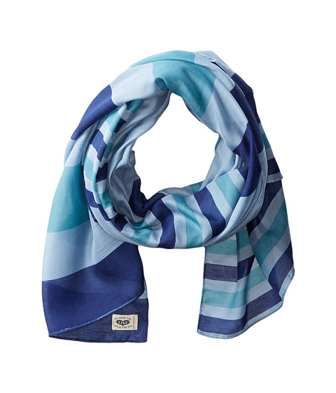 Life is good - Summer Scarf (Mineral Blue) Scarves