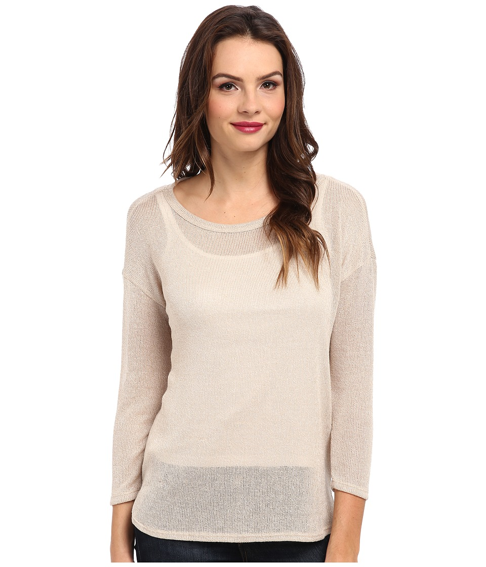 Soft Joie - Nash Top (Almond/Porcelain) Women's Long Sleeve Pullover