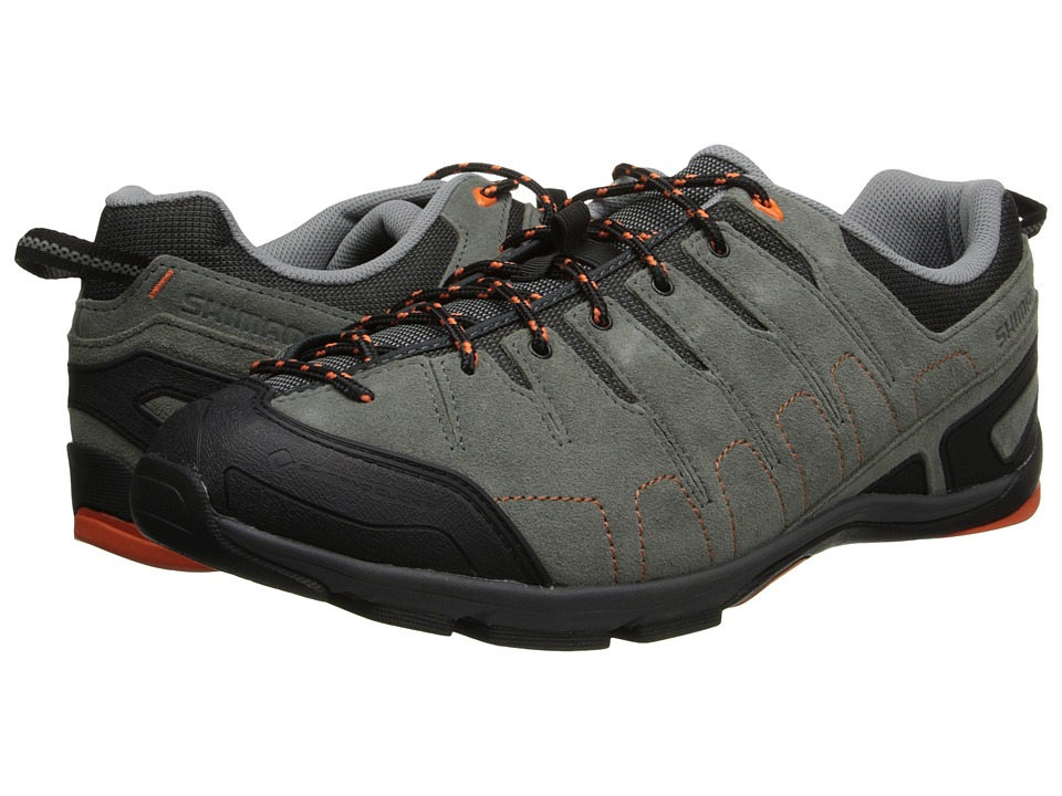 Shimano - SH-CT80 (Grey/Orange) Men's Cycling Shoes